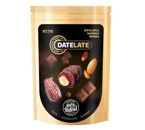 Çikolatalı Bademli Hurma DATELATE® 200 gr.